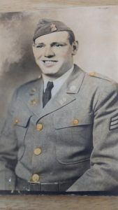 Ray Harrington military photo